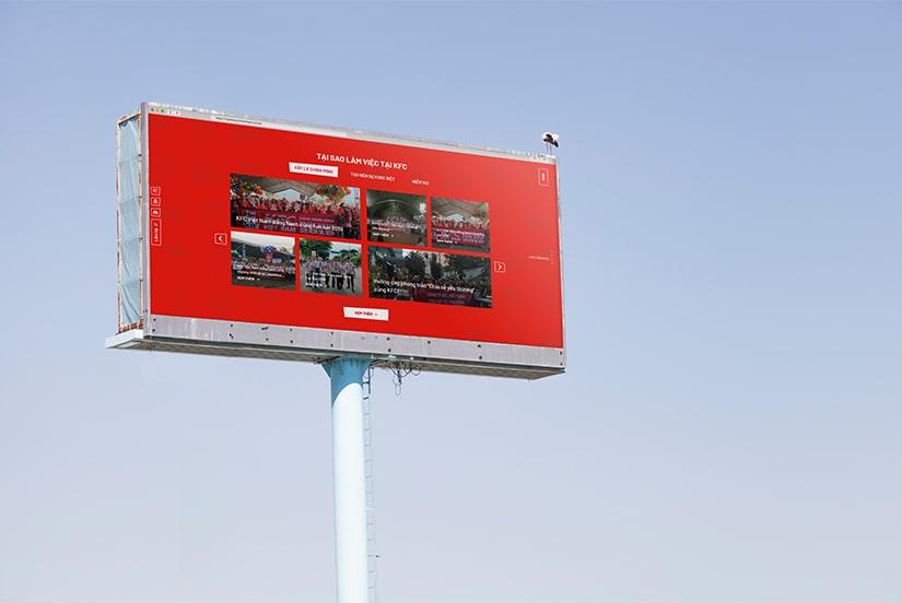 Cánh Cam thiết kế website tuyển dụng cho KFC ảnh 4